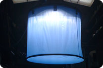 roscotex fabrics for film, television & video : skylights